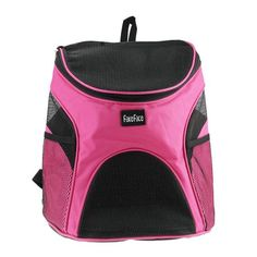 FakeFace cat Dog Cat Puppy Soft-sided Mesh Carrier Backpack Pup Front Chest Back Pack w/ Comfortable Adjustable Shoulder Straps Outdoor Travel Cat Little Dog House for Small Dogs Cats Carrier Tote Bag >>> Startling review available here  : Cat Cages, Carrier and Strollers