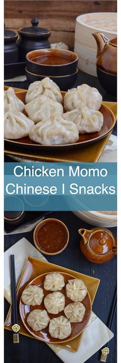 Best Chicken Momo are Nepalese or Chinese dumplings that are boiled or fried in a special steamer and taste delicious with a spicy dipping sauce. Make them for snacks or dinner, they are good always. Chinese I Indo Chinese I Snacks I chicken I dumpling I via @WhiskAffair