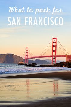 Curious what to pack for San Francisco in March? Use our tips to prepare for everything from June Gloom to Indian Summer in San Francisco. Solo Travel, Travel Usa, Travel Tips, Canada Travel, Travel Hacks, Travel Advice, Travel Quotes, Travel Ideas, Usa Roadtrip