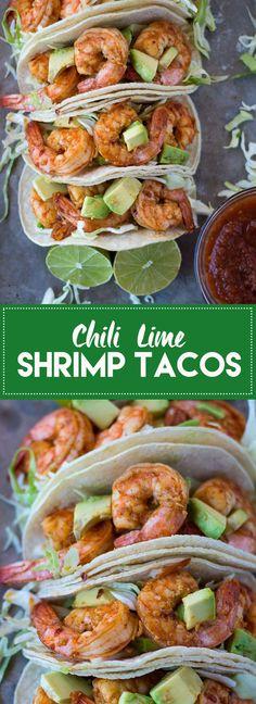 Chili Lime Shrimp Taco Recipe | Best shrimp tacos | Healthy shrimp taco recipe | Shrimp tacos with cabbage slaw | Quick and easy taco recipe | Fast and healthy dinner recipe | simple shrimp taco recipe | Spicy shrimp tacos #shrimptacos #tacorecipe #healthytacorecipe #chililimeshrimptacos
