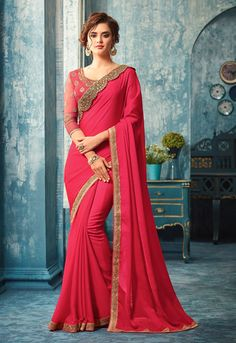 Buy Hug Collection of sarees Like Designer Saree,Wedding Sarees,Cotton Sarees,Party wear Saree and More For All Occasion And Festival, Shop Now Get Discount Up to Off Cash On Delivery Available ! Chiffon Saree, Georgette Sarees, Lehenga Choli, Silk Sarees, Lehnga Dress, Fancy Sarees, Party Wear Sarees, Saree Designs Party Wear, Saris