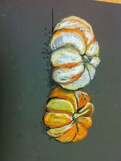 Image score for Cubist Still Life Lesson Plan Pumpkin Chalk Pastel - Art Education ideas Chalk Pastel Art, Chalk Pastels, 7th Grade Art, Middle School Art Projects, Fall Art Projects, Thanksgiving Art, Pumpkin Art, Art Lessons Elementary, School Lessons