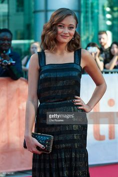 Actress Ella Purnell attends the premier of 'The Journey Is The Destination' at Roy Thomson Hall on September 14, 2016 in Toronto, Canada.