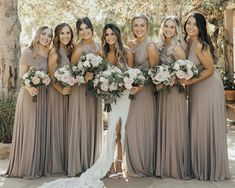 Organic Mountain Wedding Inspiration classic and clean earthy palette