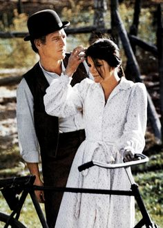 Paul Newman & Katharine Ross in Butch Cassidy and the Sundance Kid