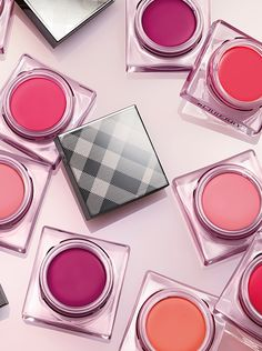 Burberry Make-up Lip & Cheek Bloom - a unique, airy, cushioned formula that leaves a buildable, soft flush of colour on lips and cheeks.