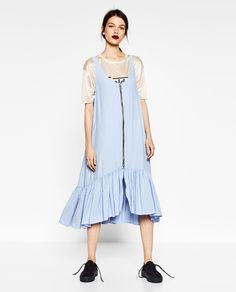 Image 1 de ROBE LONGUE ZIPPÉE de Zara