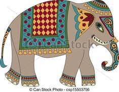 Stylized elephant Illustrations and Stock Art. Stylized elephant illustration graphics and vector EPS clip art available to search from thousands of royalty free clipart providers. Elephant Applique, Elephant Pattern, Elephant Illustration, Illustration Art, Art Illustrations, Thailand Elephants, Madhubani Painting, India Art, Free Art Prints