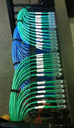 Cable Management Brackets, Patch Panels & Switch Bars for Data Centers - Ce Communications