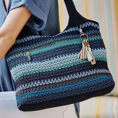 Ravelry: Anchors Aweigh Tote b