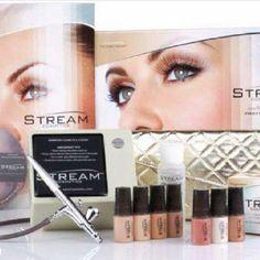 Airbrush makeup at home-www.streamcosmetics.com/sheri