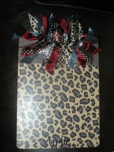 clipboard- Great Teachers gift.