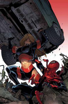 SUPERIOR SPIDER-MAN #21 #Spiders