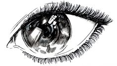 draw magic japanese eye / disegno magico occhio japponese  (animated spe...