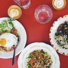 my Favorite breakfast spot these days... SQIRL (you can keep up with all my favorite L.A. spots on IG @justinablakeney)