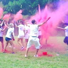 Lynn hosted a 5k color run to celebrate health, happiness, and individuality. #lynning