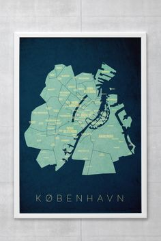 København - Dagens Poster | BoligciousBoligcious