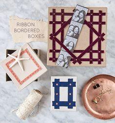 Ribbon Border Boxes