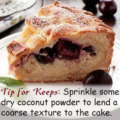 Cherry dump cake recipe...