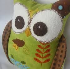 free stuffed owl patterns to sew - Buscar con Google