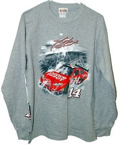 Tony Stewart Office Depot Long Sleeve Tee Adult Medium Nascar by Motorsport Authentics. $13.99. Officially licensed nascar tee shirt we offer a great line of nascar officially licensed tee shirts. tony stewart 14 adult medium high quality long sleeve tee shirt see our listings for other tee shirts and sizes