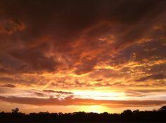 Awesome sunset in WestAustralia  Sent via twitter: @langmonster  30/12/2012