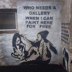 Free art #streetart.