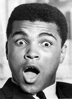 From Our Archives: Muhammad Ali in South Florida. June 1965 A priceless reaction from Muhammad Ali, (Fraser Hale/The Miami News) Muhammad Ali Fights, Muhammad Ali Boxing, Ali Quotes, Star Quotes, Heavyweight Boxing, World Boxing, Float Like A Butterfly, Hometown Heroes, Boxing Champions