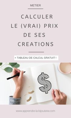 Find out how to calculate the true worth of his creations Easy Crafts To Sell, Site Wordpress, Web Design, Le Prix, Auto Body Repair, Couture Sewing, Buisness, Business Planning, Budgeting