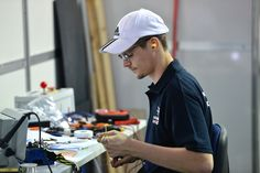 Day 1 of competitions: Chris Renwich - Manufacturing Team Challenge