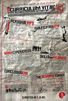 Curriculum original #cv #original #destroy