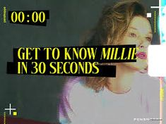 #milliebobbybrown Penshoppe, Millie Bobby Brown, Getting To Know