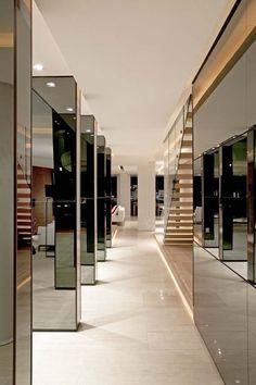 hallway designed by SAOTA & OKHA in Johannesburg, South Africa.