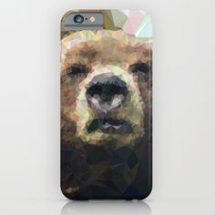 Geometric Bear, Iphone Cases, Products, I Phone Cases, Beauty Products