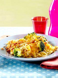 Mogelspätzle 'n Cheese mit Brokkoli