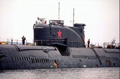 """K-77 was a """"Project 651"""" (also known by its NATO reporting name of Juliett-class) cruise missile submarine of the Soviet Navy."""