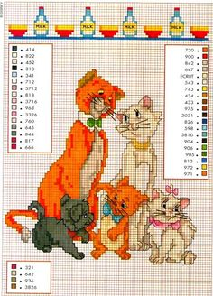 CHARMS IN CROSS POINT: Aristocats