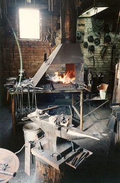 Emmanuel A. Schrock, Blacksmith.