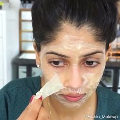 #Repost @arshia_makeup One of my favorite ways to get rid of facial hair/blackheads is by using this gelatin + milk face mask! It's super easy, quick and effective! ▫️You will need: • 1 tbsp gelatin • 2 tbsp milk ▫️Here's what to do: • Mix both ingredients together • Microwave for 10 seconds • Let mixture cool a bit, then apply all over face. • I highly recommend doing 2 layers to help make the peel off process easier. • Let dry and peel off!  I love finishing off with my @farsalicare 'rose…