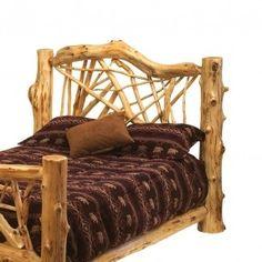 Fireside Lodge Furniture Cedar Twig Style Headboard