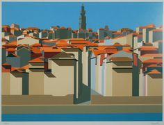 Porto by Maluda Goa India, House Illustration, Illustrations, Paw Paw Patch, Gustav Klimt, Paris, Cubism, Wind Turbine, In This Moment