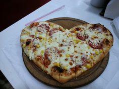 İYİLİK VE SAĞLIK: Kalp pizza