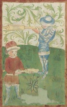 Kriegstechnik (Bilderhandschrift) Oberrhein · um 1420-1440 Ms. Rh. hist. 33b  Folio 103v