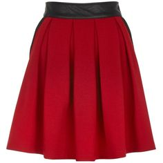 Yumi Pleated skirt ($22) ❤ liked on Polyvore featuring skirts, bottoms, saias, faldas, burgundy, women, full pleated skirt, red full skirt, burgundy pleated skirt and knee length pleated skirt