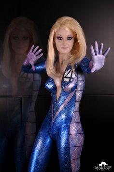 33 meilleures images du tableau bodypainting - La femme invisible 4 fantastique ...