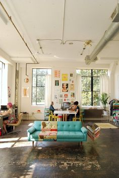 A Visit to an Adorable, Wonderful Fabric Design Studio in Atlanta | Apartment Therapy