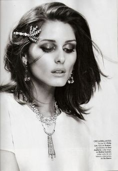 Olivia Palermo for Spanish Vogue via The Vogue Diaries