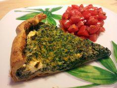 verdementa - fashion from my curvy point of view: Cucina vegetariana   torta salata di spinaci, ricotta e feta greca