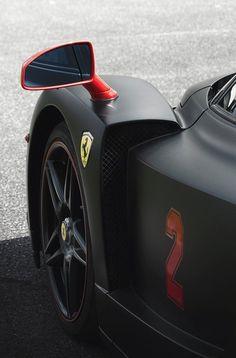 ✮ SPORTS CAR ✮ SuperCar Black Ferrari Enzo . . . See more sportscars at www.fabuloussavers.com/wcars.s #FerrariEnzo