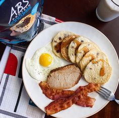 Looking for a healthy and delicious way to jump-start your day? Starting your day with ABS Protein Pancakes is one of the best ways to fuel your body every morning! Click the image to order yours!